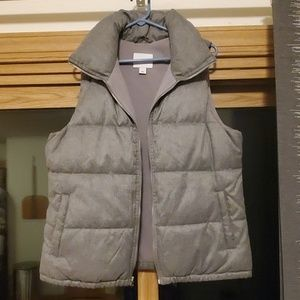 Large Gray Old Navy Vest